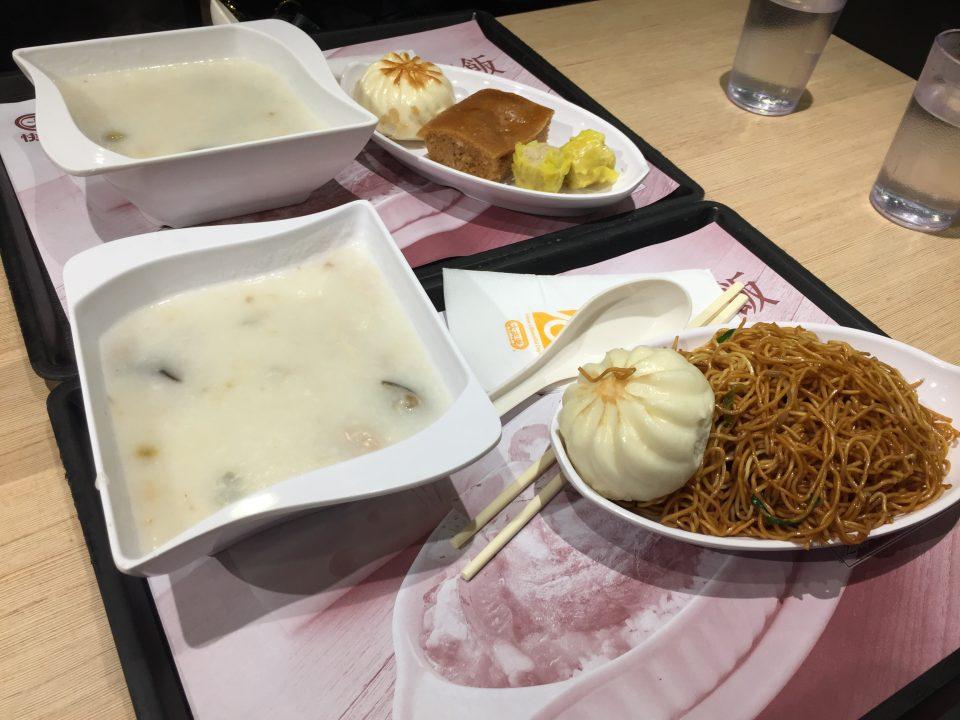 香港の本場でのお粥体験