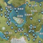 原神のマップ